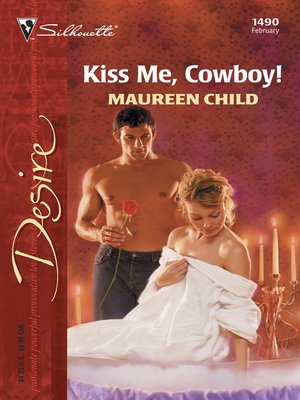 cover image of Kiss Me, Cowboy!