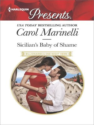 cover image of Sicilian's Baby of Shame--Escape with this Sicilian Pregnancy Romance