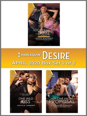 cover image of Harlequin Desire April 2020--Box Set 2 of 2