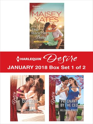 cover image of Harlequin Desire January 2018--Box Set 1 of 2