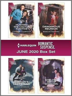 cover image of Harlequin Romantic Suspense June 2020 Box Set