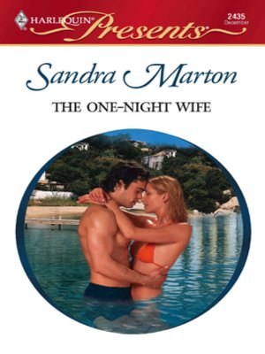 cover image of The One-Night Wife