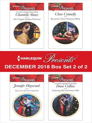 cover image of Harlequin Presents December 2018, Box Set 2 of 2