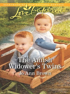 cover image of The Amish Widower's Twins
