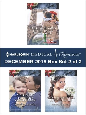 cover image of Harlequin Medical Romance December 2015, Box Set 2 of 2
