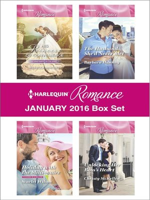 cover image of Harlequin Romance January 2016  Box Set