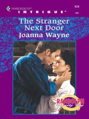 cover image of The Stranger Next Door