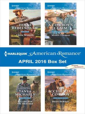 cover image of Harlequin American Romance April 2016 Box Set