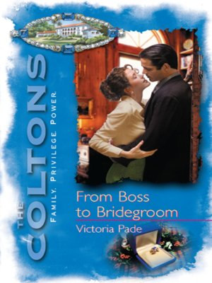 cover image of From Boss to Bridegroom