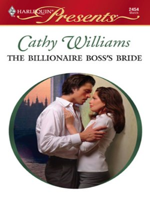 cover image of The Billionaire Boss's Bride