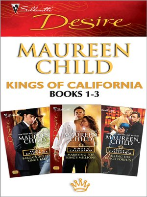cover image of Kings of California books 1-3