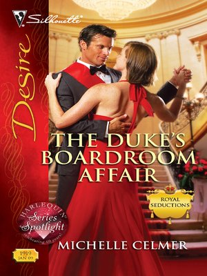 cover image of The Duke's Boardroom Affair