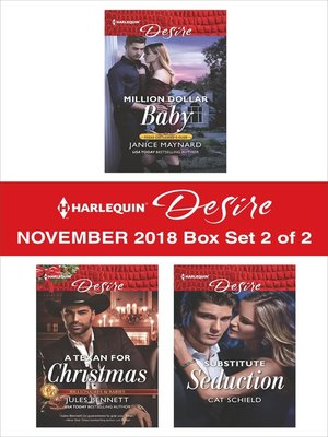 cover image of Harlequin Desire November 2018 Box Set--2 of 2