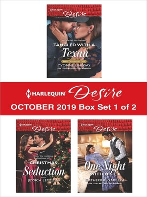 cover image of Harlequin Desire October 2019--Box Set 1 of 2