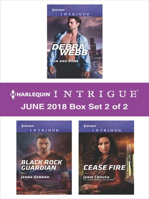 cover image of Harlequin Intrigue June 2018--Box Set 2 of 2