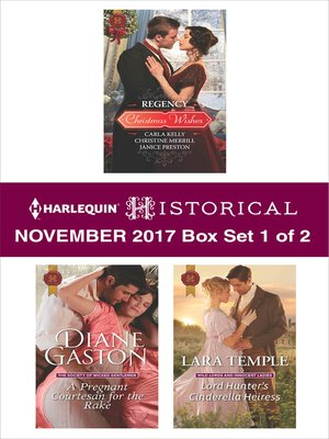 cover image of Harlequin Historical November 2017--Box Set 1 of 2