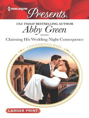 cover image of Claiming His Wedding Night Consequence