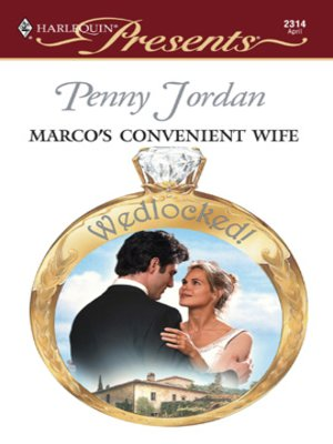 cover image of Marco's Convenient Wife