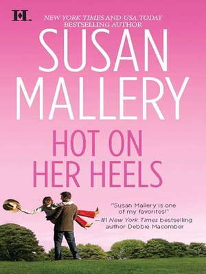 cover image of Hot on Her Heels