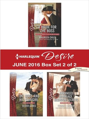 cover image of Harlequin Desire June 2016, Box Set 2 of 2