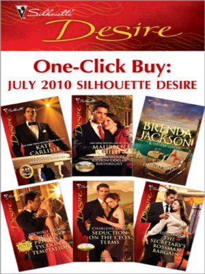 cover image of One-Click Buy: July 2010 Silhouette Desire