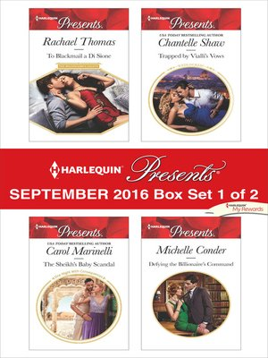 cover image of Harlequin Presents September 2016, Box Set 1 of 2
