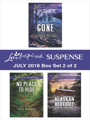 cover image of Harlequin Love Inspired Suspense July 2018--Box Set 2 of 2
