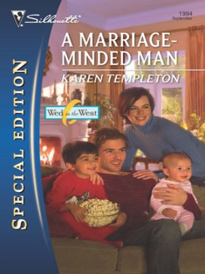 cover image of A Marriage-Minded Man