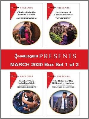 cover image of Harlequin Presents--March 2020--Box Set 1 of 2
