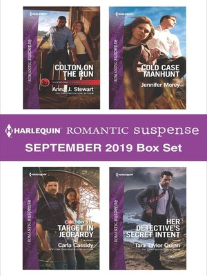 cover image of Harlequin Romantic Suspense September 2019 Box Set