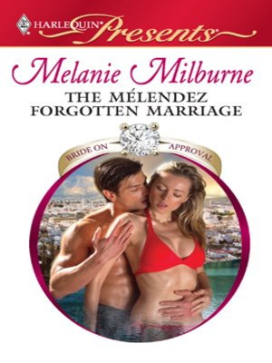 cover image of The Mélendez Forgotten Marriage