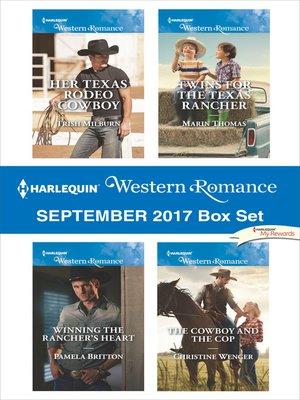 cover image of Harlequin Western Romance September 2017 Box Set