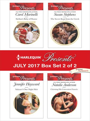 cover image of Harlequin Presents July 2017, Box Set 2 of 2