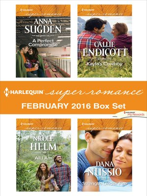 cover image of Harlequin Superromance February 2016 Box Set