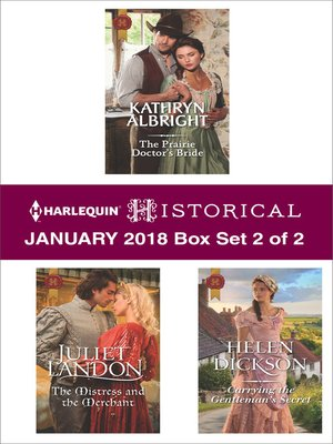 cover image of Harlequin Historical January 2018--Box Set 2 of 2