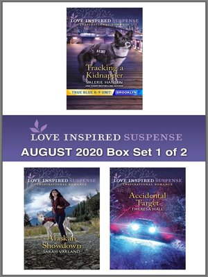 cover image of Harlequin Love Inspired Suspense August 2020--Box Set 1 of 2