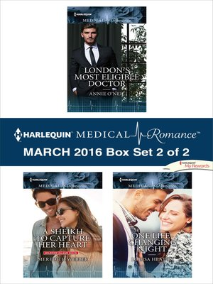 cover image of Harlequin Medical Romance March 2016--Box Set 2 of 2