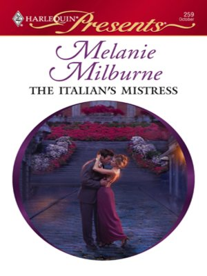 cover image of The Italian's Mistress