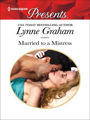 cover image of Married to a Mistress