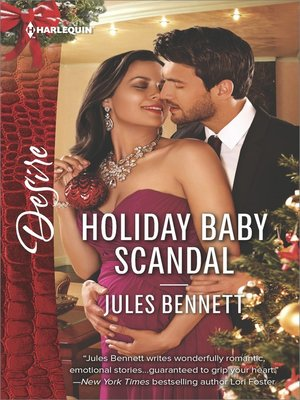 cover image of Holiday Baby Scandal