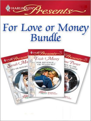 cover image of For Love or Money Bundle