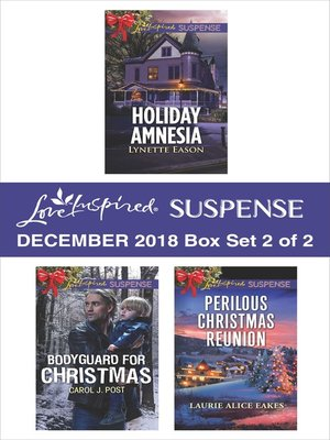 cover image of Harlequin Love Inspired Suspense December 2018--Box Set 2 of 2