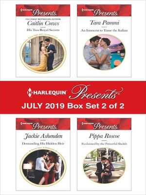 cover image of Harlequin Presents--July 2019: Box Set 2 of 2
