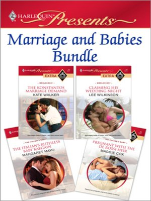 cover image of Marriage and Babies Bundle