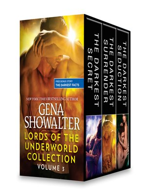 cover image of Lords of the Underworld Collection, Volume 3: The Darkest Secret ; The Darkest Surrender ; The Darkest Seduction