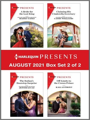 cover image of Harlequin Presents--August 2021--Box Set 2 of 2