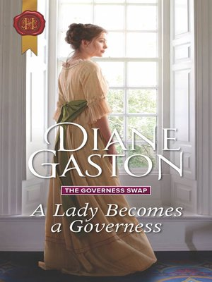 cover image of A Lady Becomes a Governess