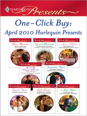 cover image of One-Click Buy: April 2010 Harlequin Presents