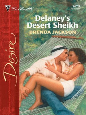 cover image of Delaney's Desert Sheikh