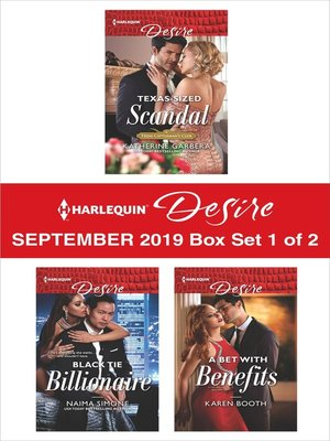cover image of Harlequin Desire September 2019--Box Set 1 of 2